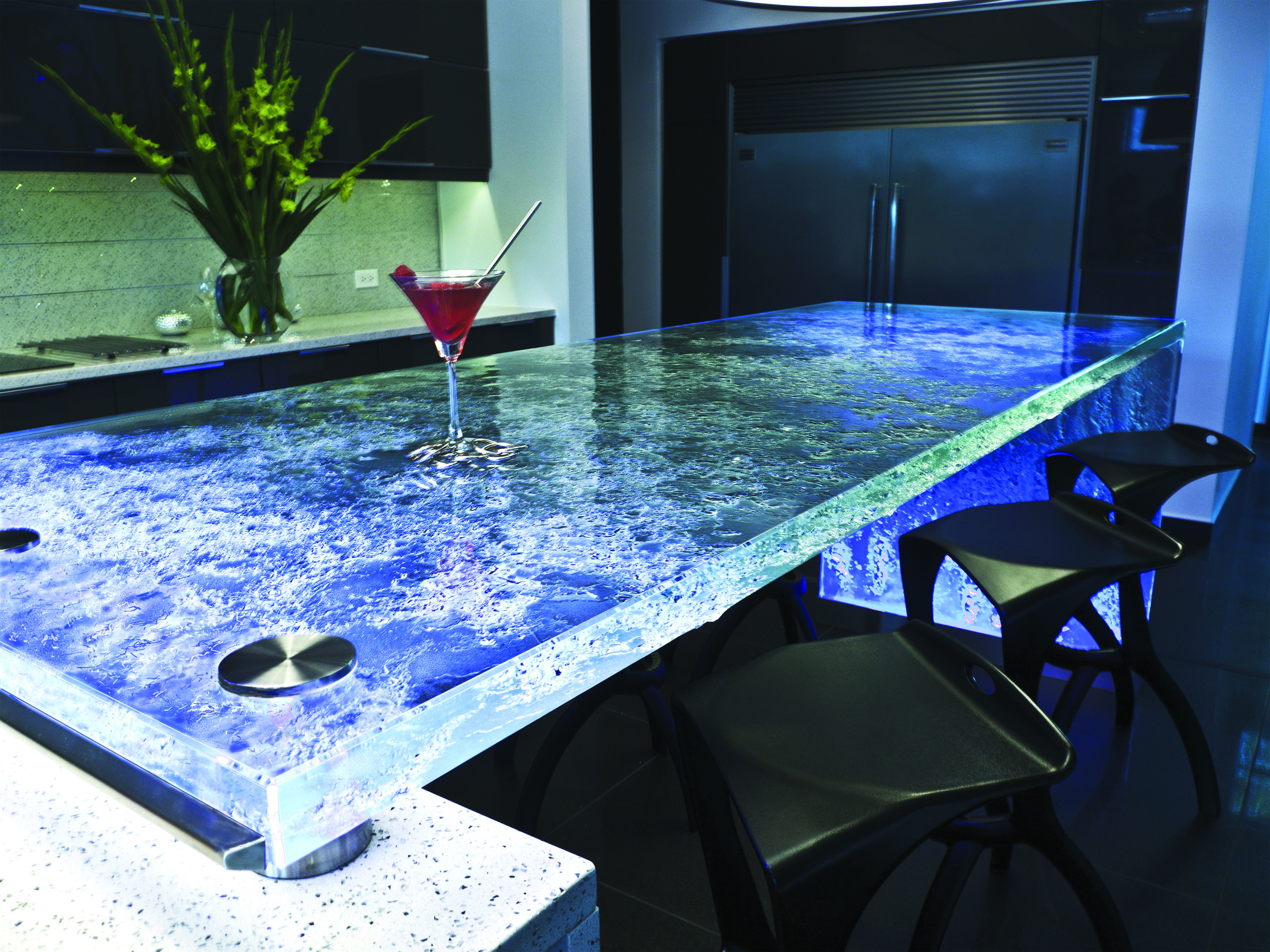 New Design Glass Countertops Amp Glass Side Panels