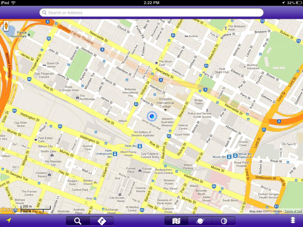Google Maps for iPad Has Mileage with Latest EggMaps Update