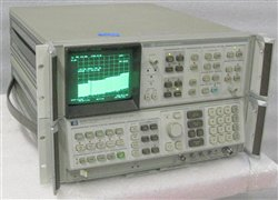 HP Spectrum Analyzer with Display