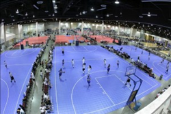 SnapSports official flooring of the AAU Big Mountain Jam