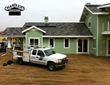Installation of a GAF Grand Slate II roof by Chandler's Roofing in Orange, CA