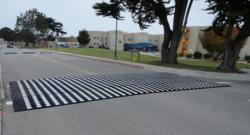 speed tables, speed humps, speed cushions