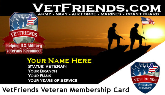 Veterans Discount Center Launched at VetFriends com for