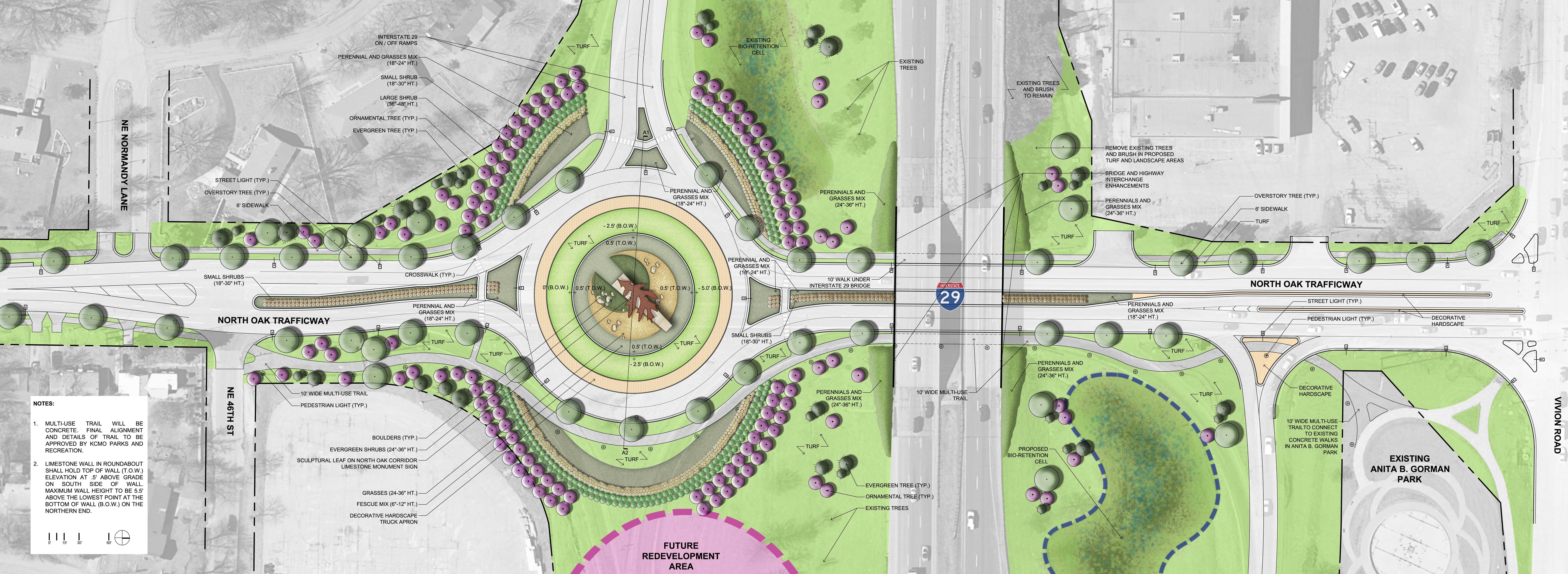 confluence receives asla awards for recent projects