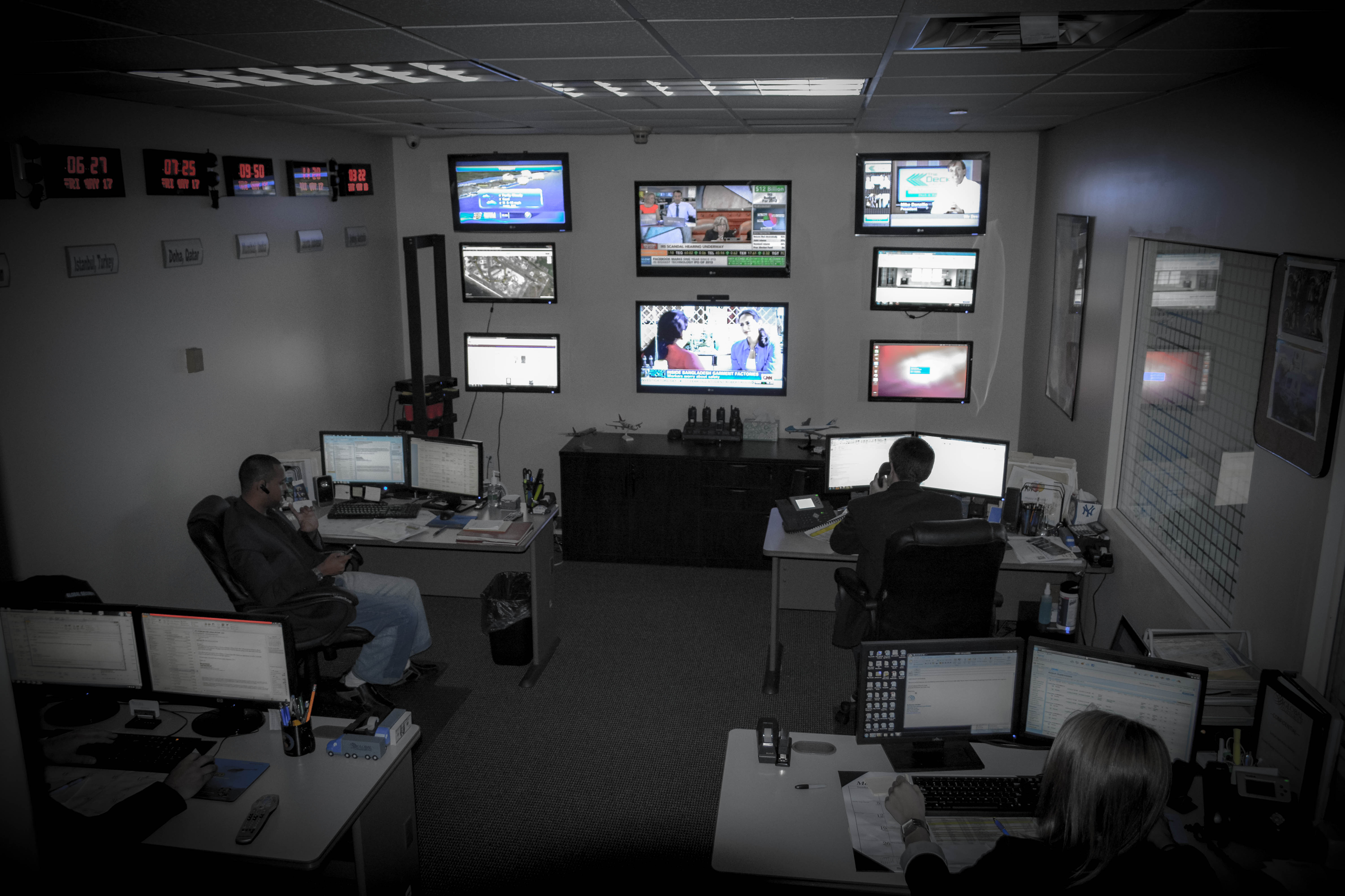 Command Center's Role In Security Is Vital To Emergency
