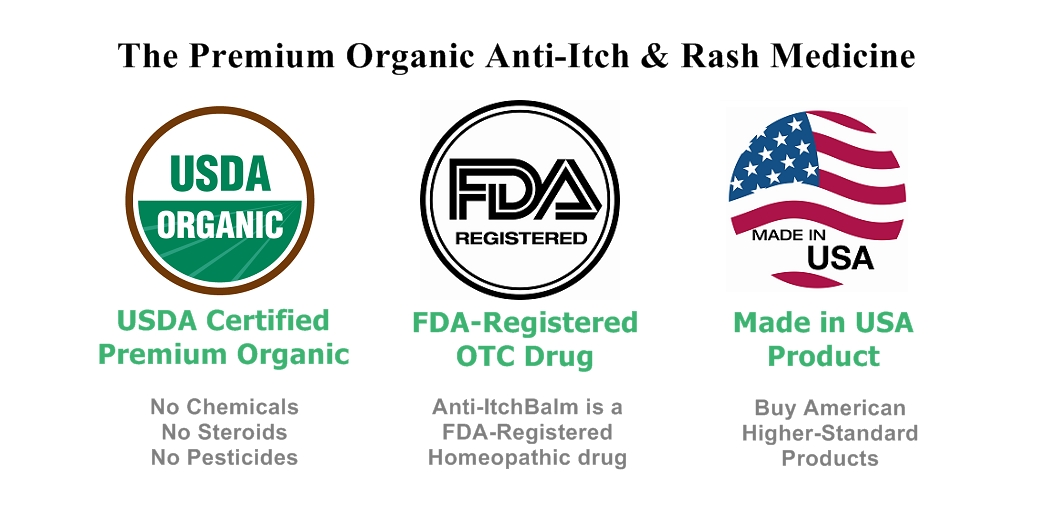First Ever Over The Counter Organic Anti Itch Ointment Developed By