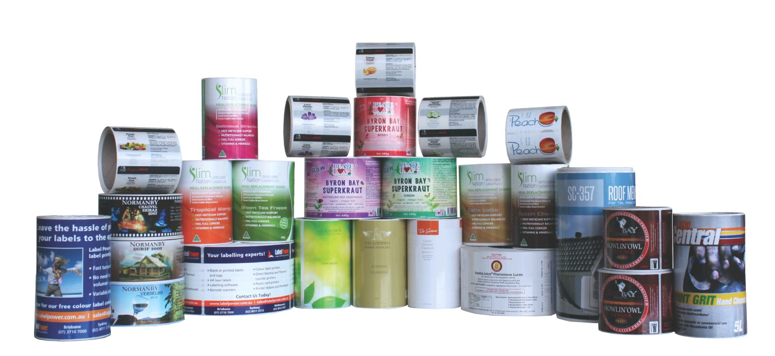 It is an image of Challenger Manufacturing Label Printing Software