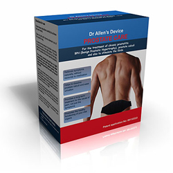 An exclusive treatment for chronic prostatitis and BPH is provided by Dr. Allen's therapeutic device