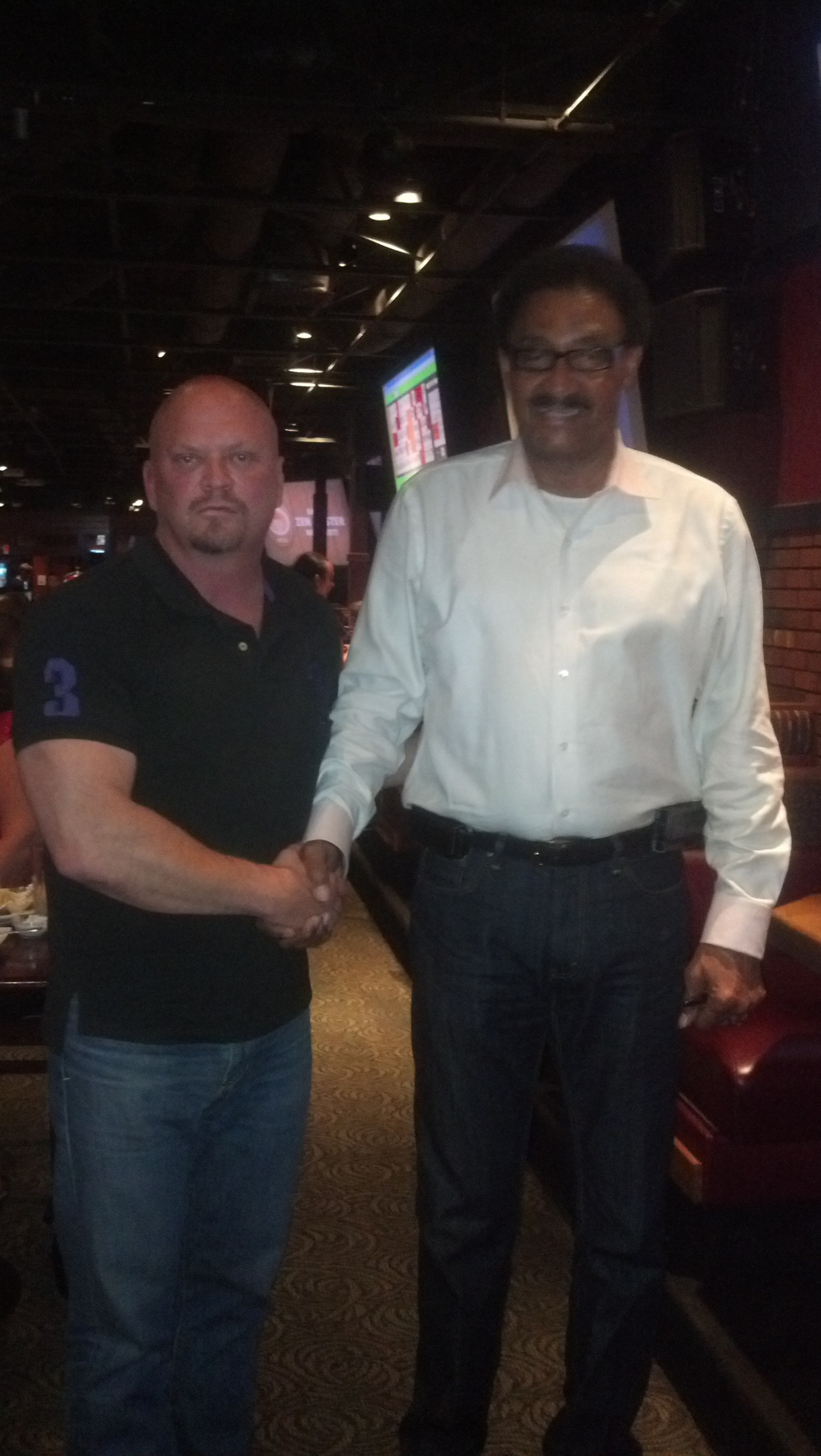Chuck Foreman With Pro Player Health Alliance Announce