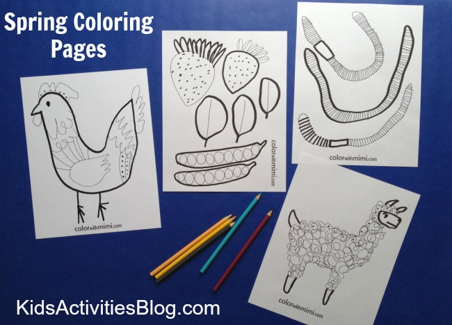 Fun Interactive Printables For Kids Have Been Released On