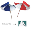 Standard lifeguard umbrella