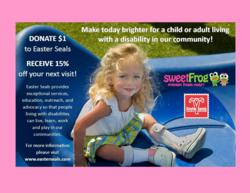 sweetFrog supports Easter Seals