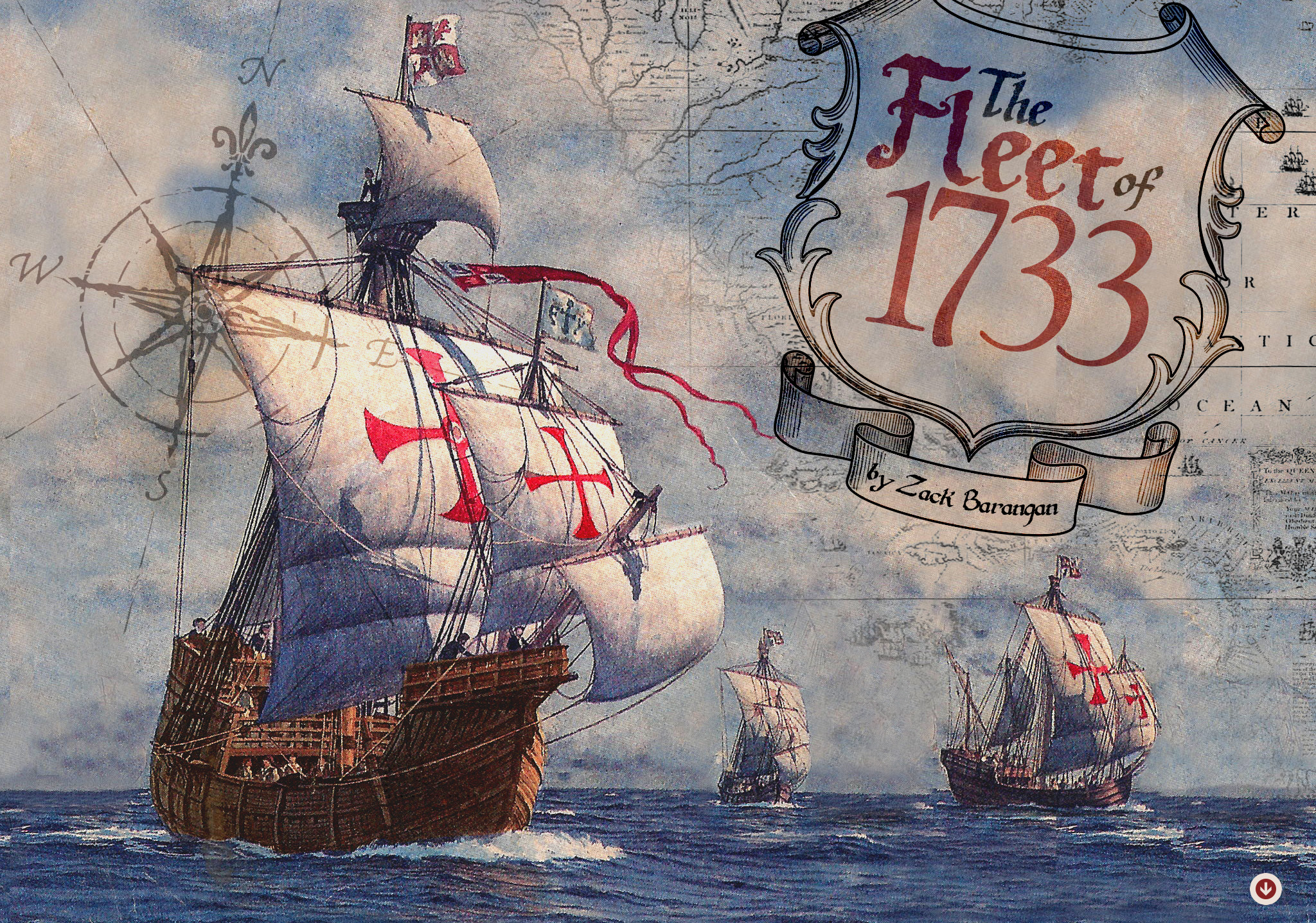 The Fleet of 1733 - by Zack Barangan ...