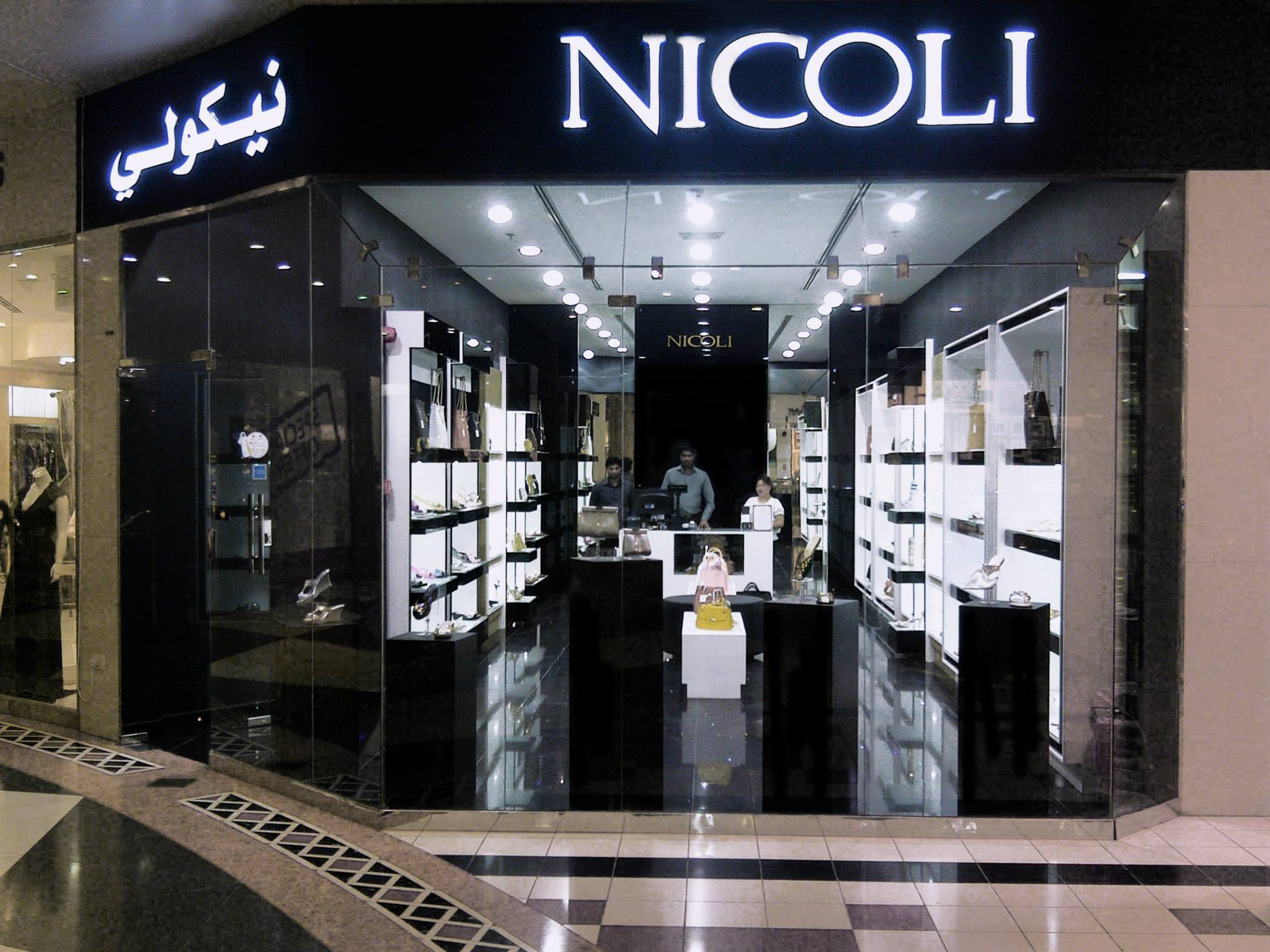 Nicoli Royal Plaza Mall Qatar Boutiquenicoli Luxury Crystal Embellished Shoes Handbags