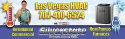 Silverstate HVAC is a Top Rated Air Conditioning Repair Contractor in Las Vegas, NV. Call now for Repair on Trane, Carrier, Lennox, Bryant, Maytag and other top brands.