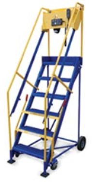 New Rolling Ladder At A Plus Warehouse