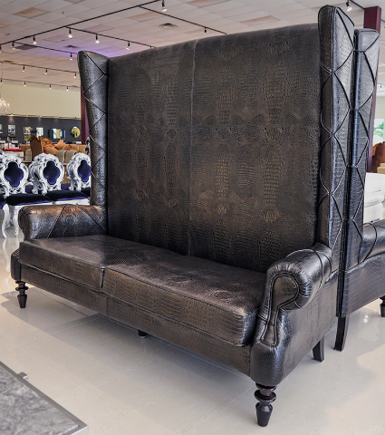 Vigo Leather Luxury High Back Chair At The Interior Gallery