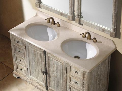 James Martin 59 25 Genna Grey Double Bathroom Vanity 238 103 5611