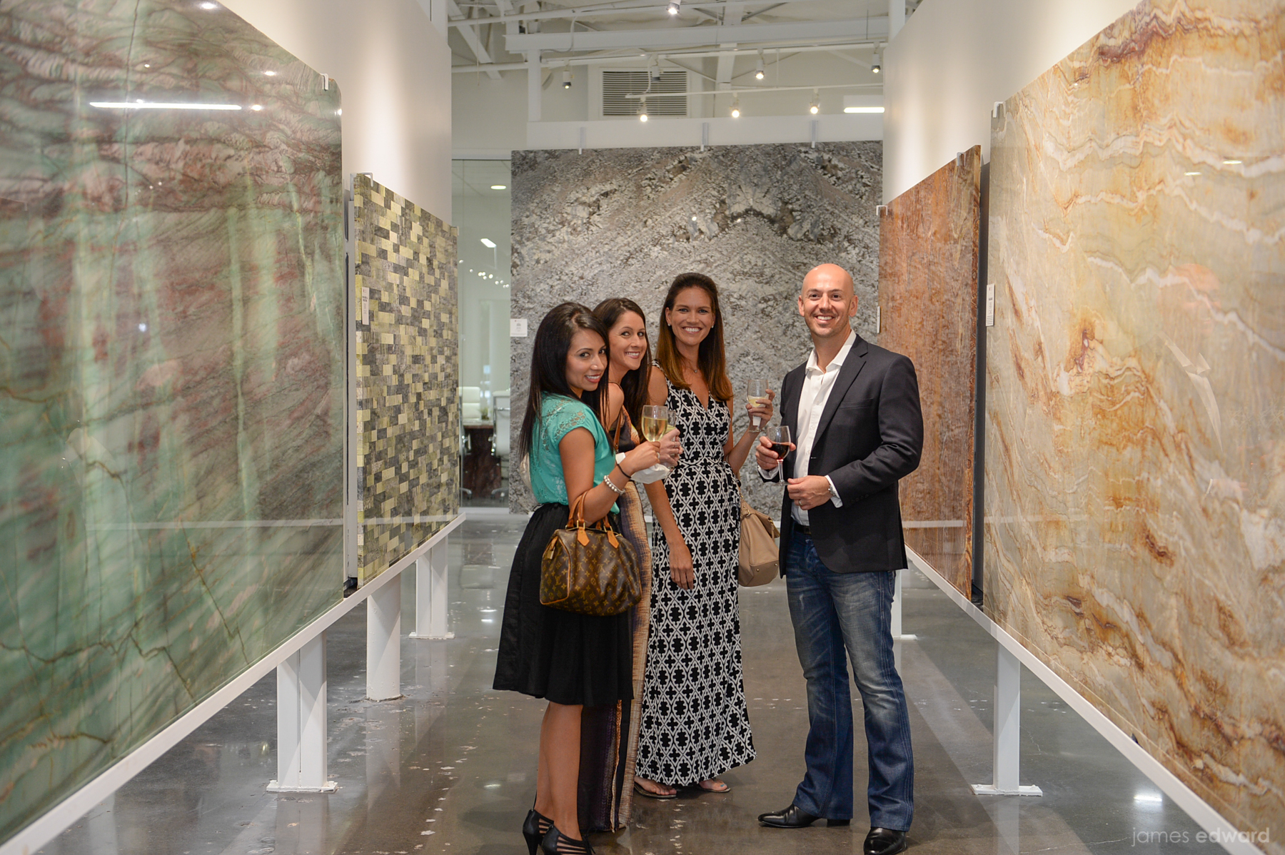Aria Stone Gallery Holds Grand Opening Event In Dallas