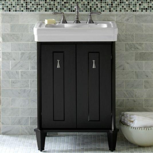 """Porcher - Lutezia Modernique 24"""" Bathroom Vanity 80910-01 ..."""