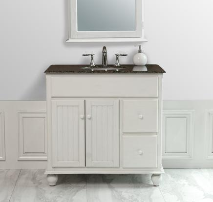 cottage style bathroom vanities cabinets homethangs has introduced a guide to beadboard 14120