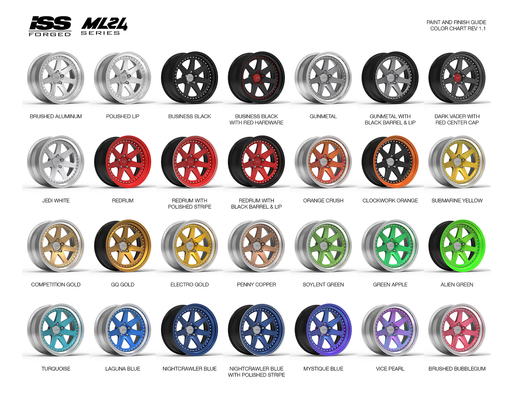 Iss Forged New Ml24 Series Of Wheels Redefining Art And Functionality