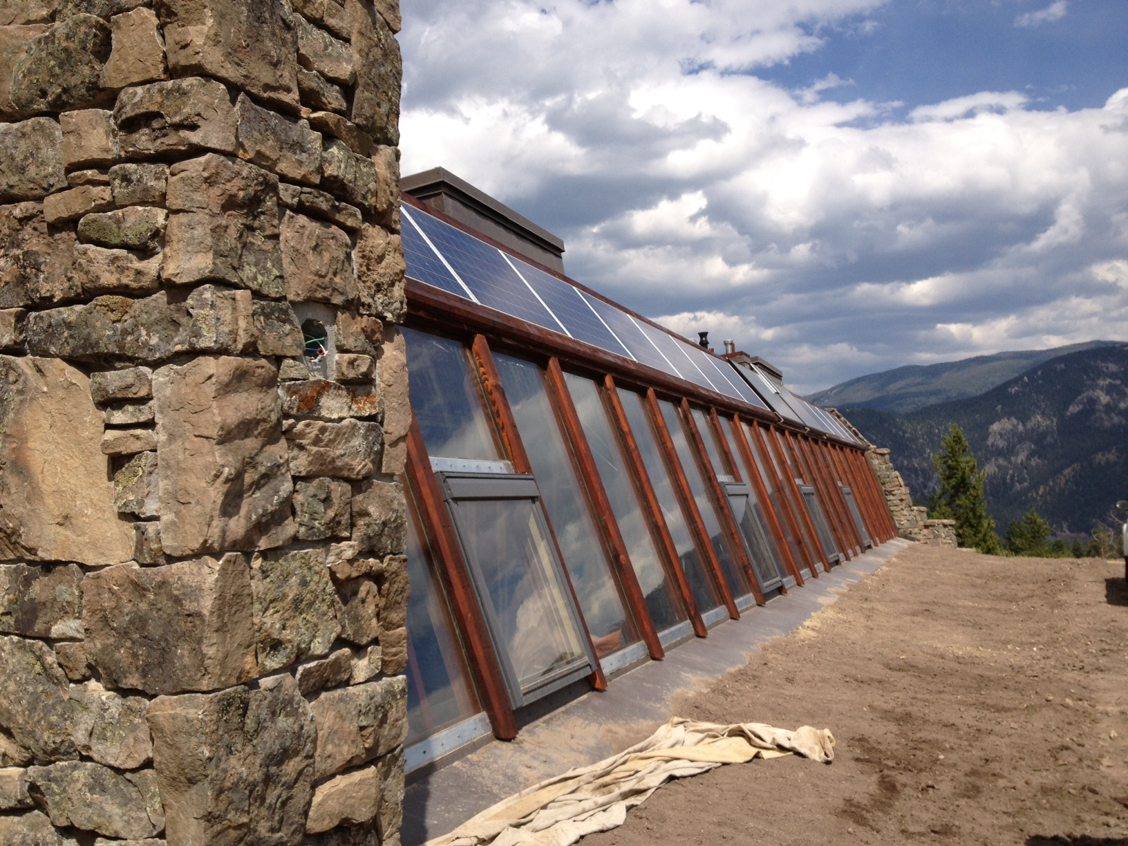 Big Sky Montana S First Earthship Is Complete And Open To