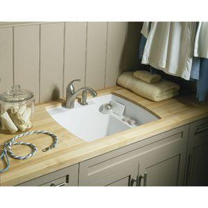 Ordinaire Sterling By Kohler Latitude Undercounter Utility Sink F995 U ...