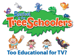 Rachel and The TreeSchoolers introduces a complete preschool curriculum over 12 episodes with support materials