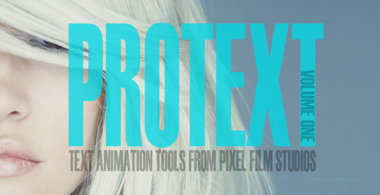 New Final Cut Pro X Text Effects and Plugins from Pixel Film