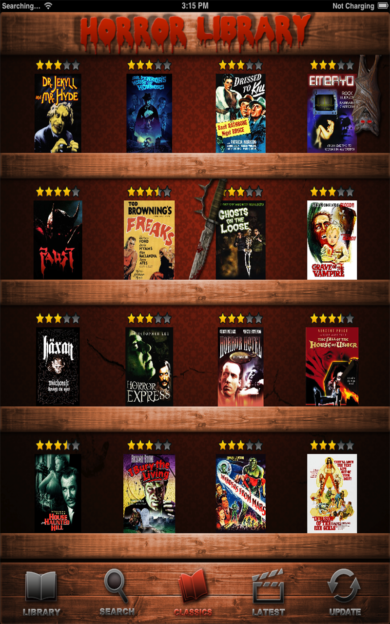 The Best Horror Movies Database App Has Been Approved by Apple