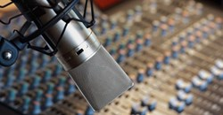 Australian voice over artists at The Voice Realm use professional recording equipment