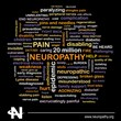 Word cloud image for neuropathy and neuropathic pain