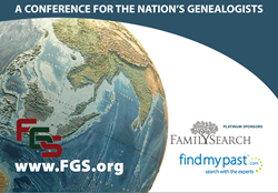 2013 FGS Conference Brochure Image