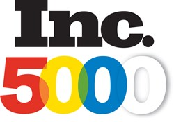 Logo for Inc. 5000 list of fastest-growing companies