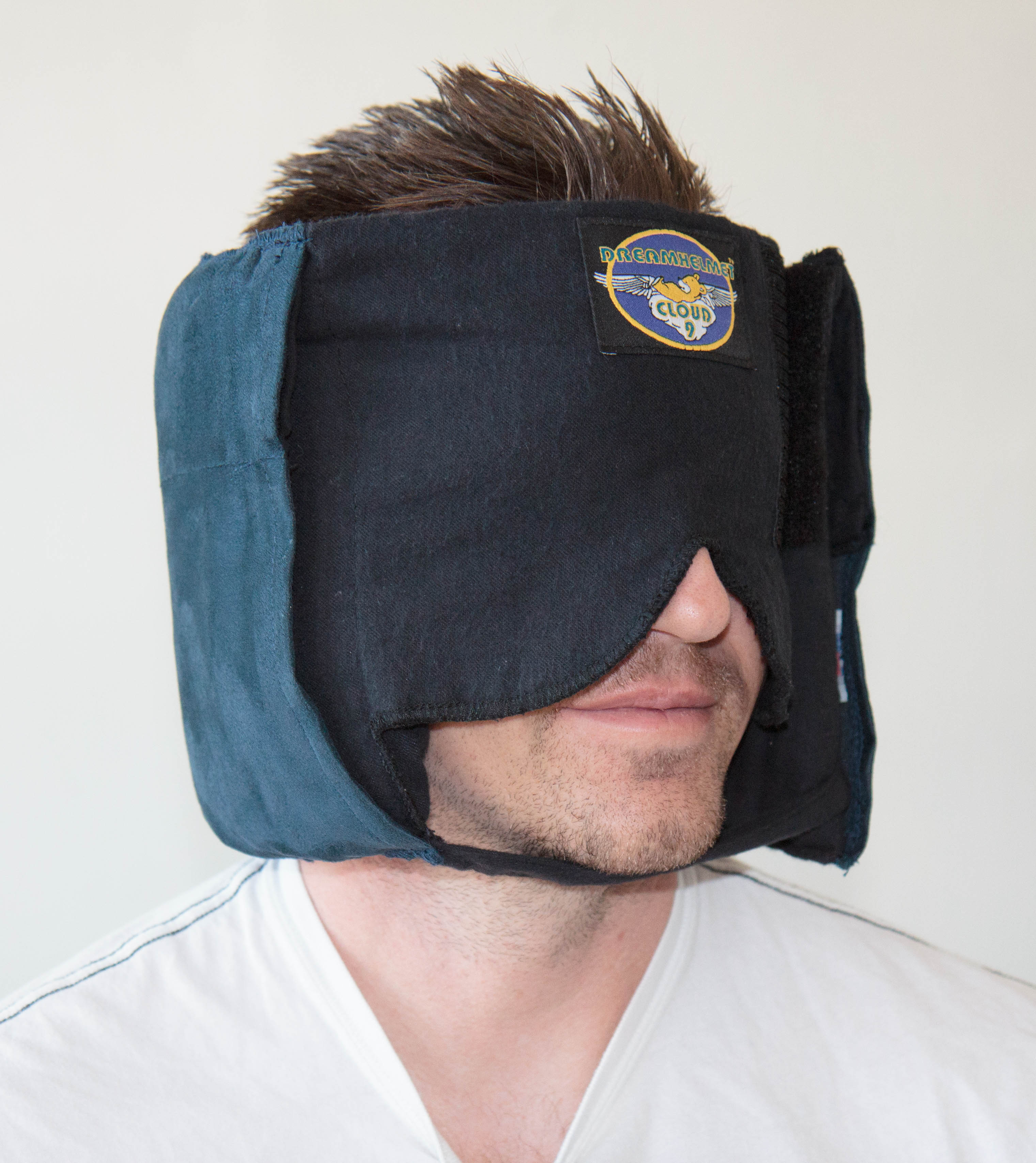 How The Dreamhelmet Sleep Mask Became A Notice Board To