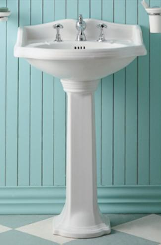 Bathroom Sink With Pedestal