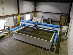Jet Edge Waterjet at Anderson-Crane Company