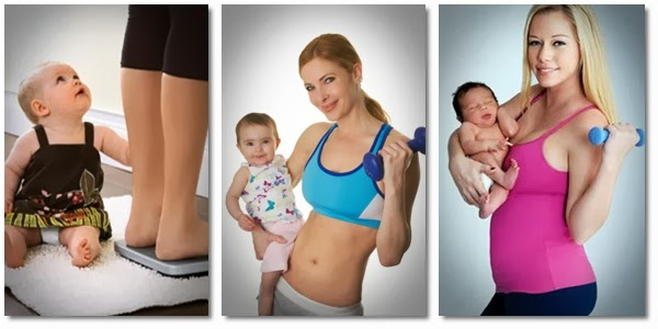 Ways to lose weight fast after having a baby
