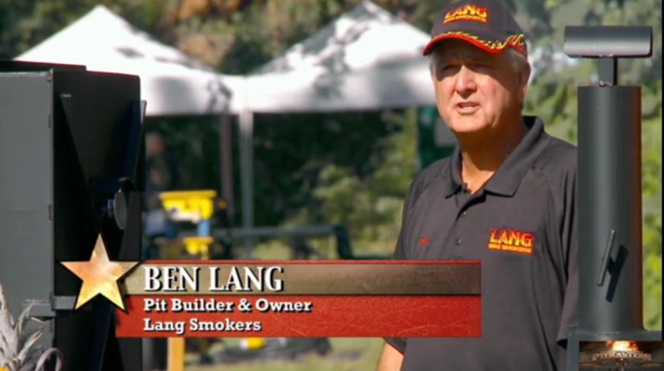 BBQ Pitmasters Grand Champion Won 'Cook'n on a Lang' for the First Time