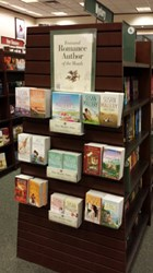 Susan Mallery display at Barnes and Noble