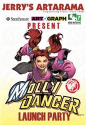 Jamal Igle - Molly Danger Launch Party at NYCC
