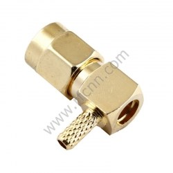 SMA Male Crimp Right Angle for RG316 RF Connector
