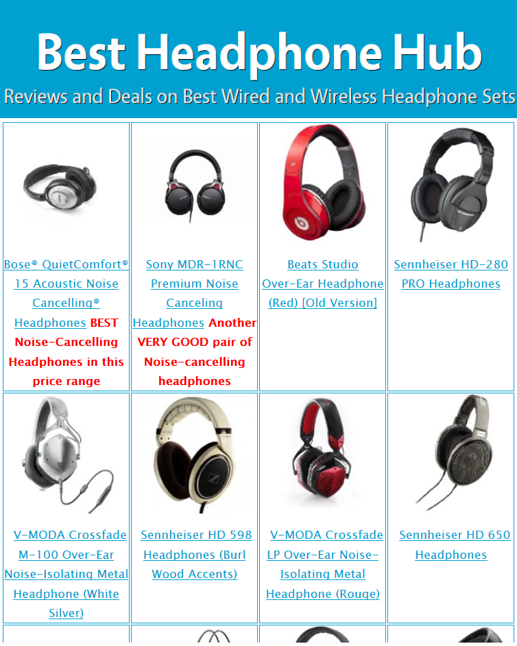 59595872a15 ... Headphones (wired)These generally provide the best audio-quality (due  to large drivers and other components) and best noise cancelling