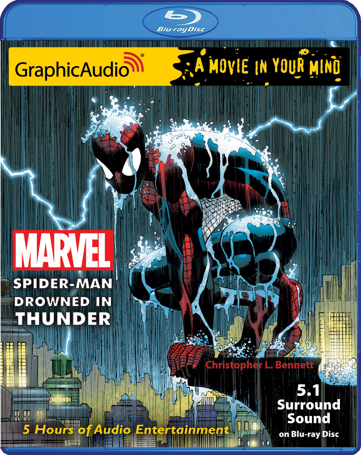 MARVEL SPIDER-MAN: DROWNED IN THUNDER in 5.1 Surround Sound DTS on Blu-Ray  DiscMARVEL SPIDER-MAN: DROWNED IN THUNDER in 5.1 Surround Sound DTS on  Blu-Ray ...