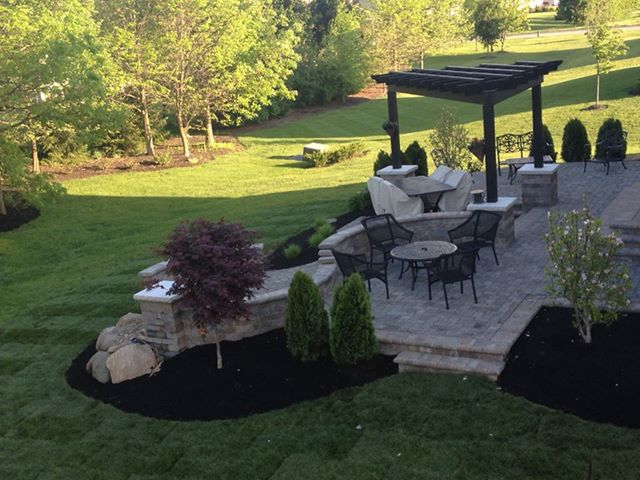 Columbus Ohio patiosColumbus Ohio patios Dublin Ohio landscape company - Columbus Ohio Landscape Company, Builderscape Discusses Fall Planning