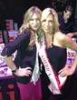 "Carla Gonzalez and Actress Jess Macallan of the hit TV show ""Mistresses"" support the Wounded Warriors Foundation"