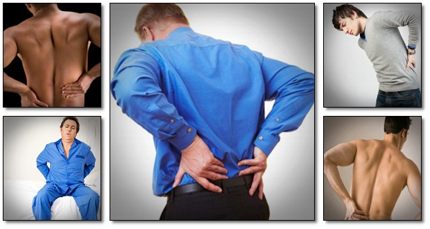 image of different back pains
