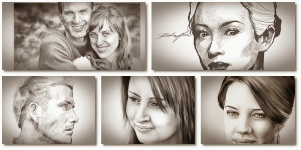 Pencil portrait tutorial pencil portrait tutorial 8 easy steps