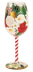 Lolitas Holiday Beauty Wine Glass